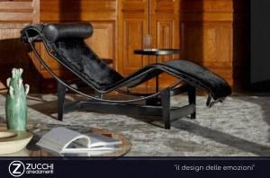 LC4 la chaise longue di Le Corbusier