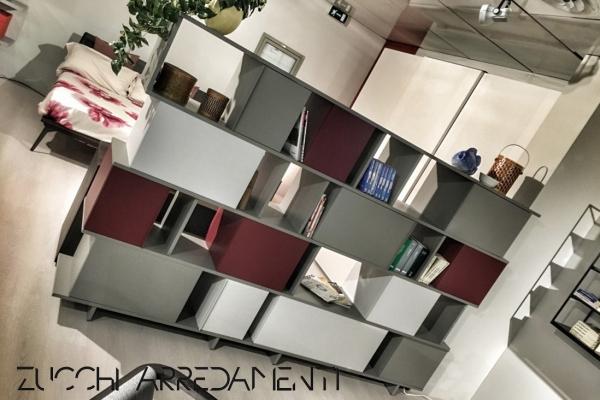 Libreria/Credenza Ziggurat - Arredamento Milano | ZUCCHI ARREDAMENTI