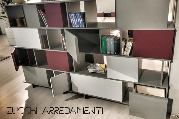 Arredamento  Libreria/Credenza Ziggurat