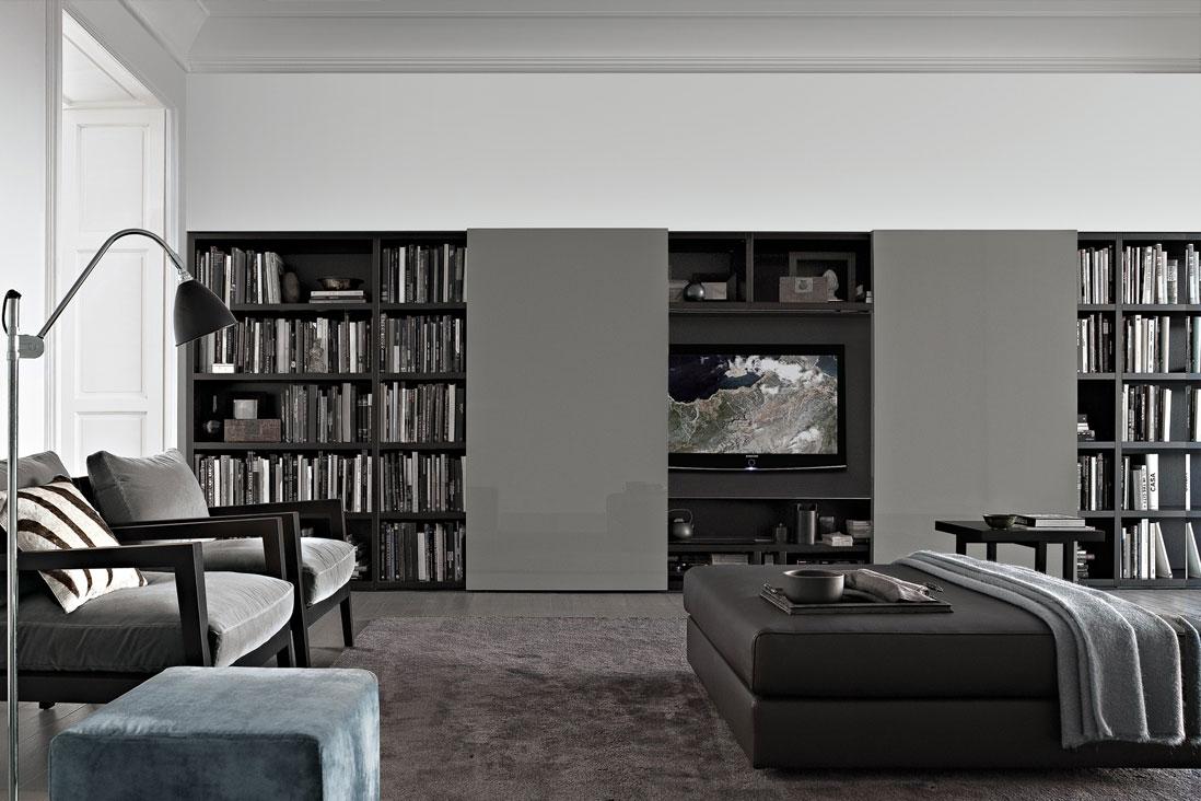 Wall System - Poliform - Italy Interior Design - Zucchi Arredamenti