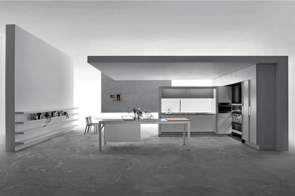 banco 01 cucine kitchens dada Luca Meda Zucchi Arredamenti Milano