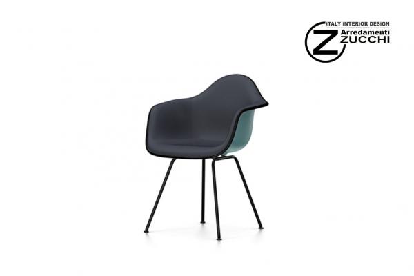 Eames plastic armchair dax vitra italy interior design for Sedie design eames