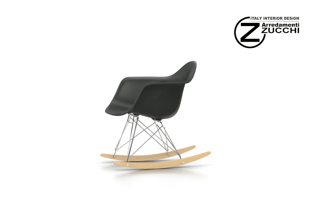 Vitra Sedia A Dondolo Eames Plastic Armchair Rar : Eames plastic armchair rar vitra italy interior design