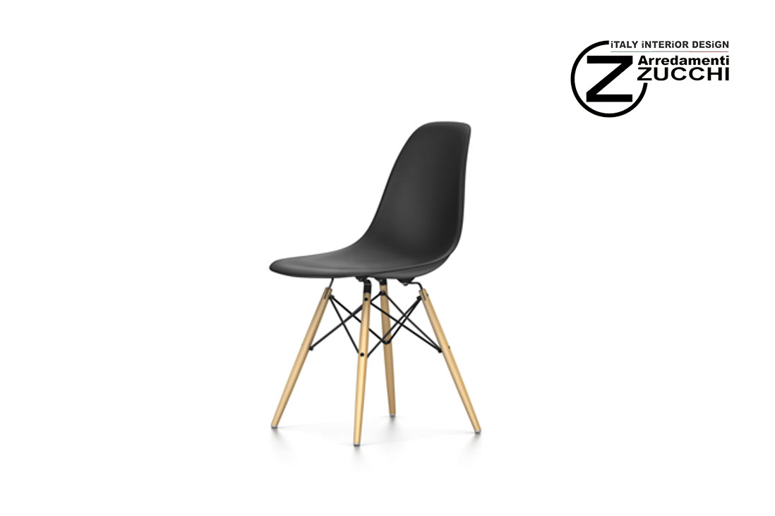 Eames plastic side chair dsw vitra italy interior design for Sedia design vitra
