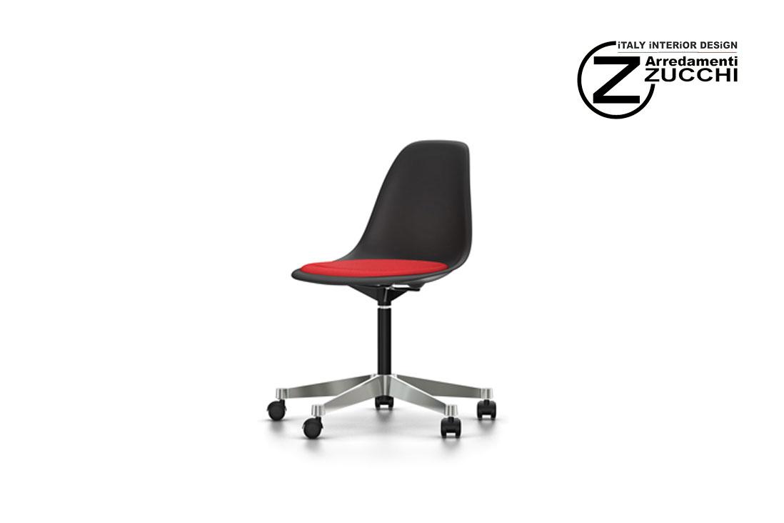 Sedie Ufficio Vitra : Eames plastic side chair pscc vitra italy interior design