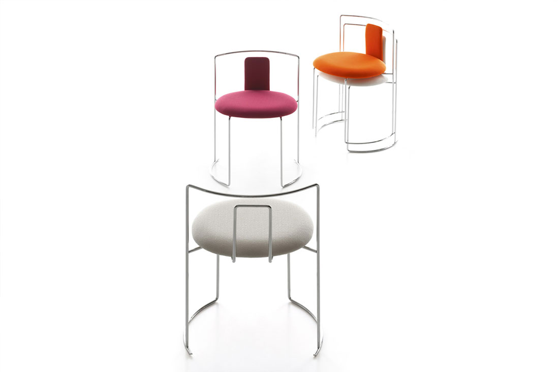 Gaja gaja bar cassina italy interior design for Sedie design outlet milano