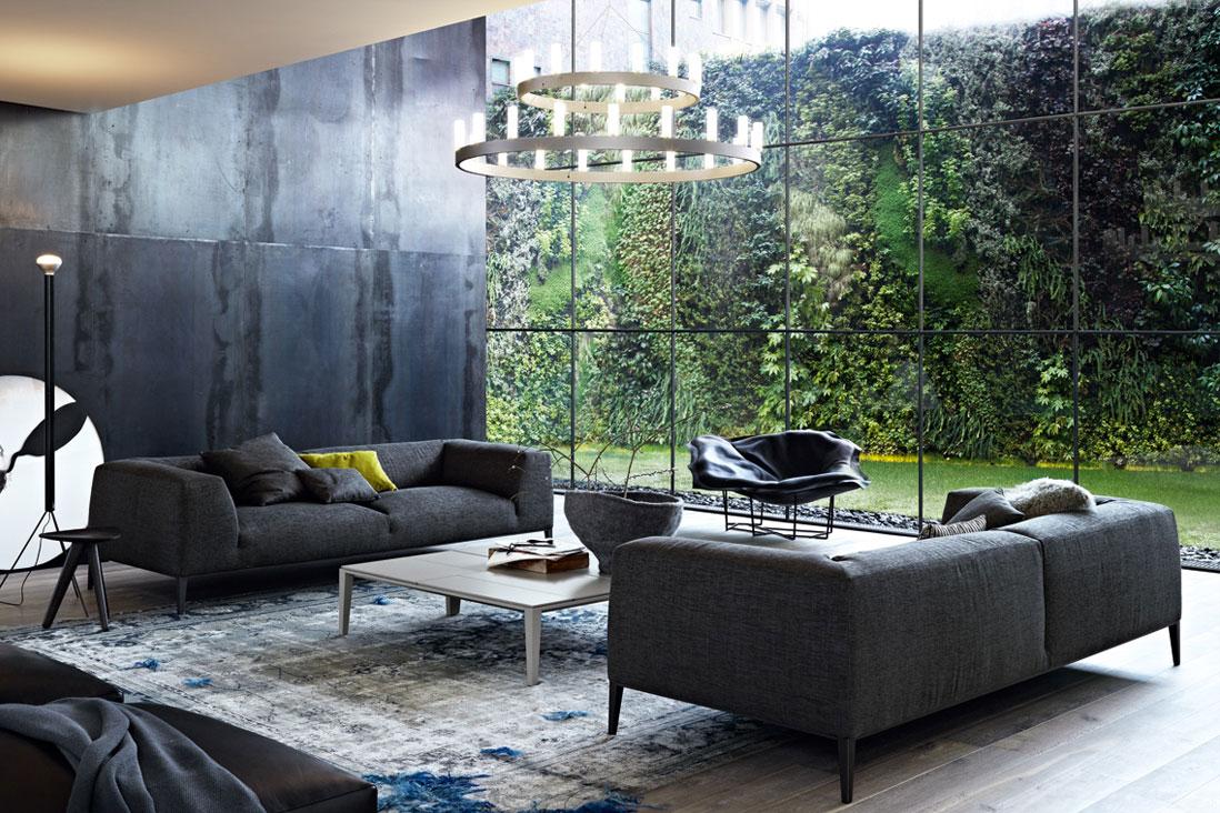Metropolitan poliform italy interior design for Divani poliform outlet